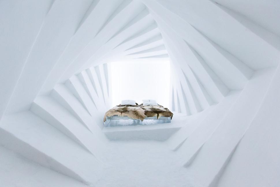 Прекрасен снежен хотел во Шведска во кој можете да престојувате