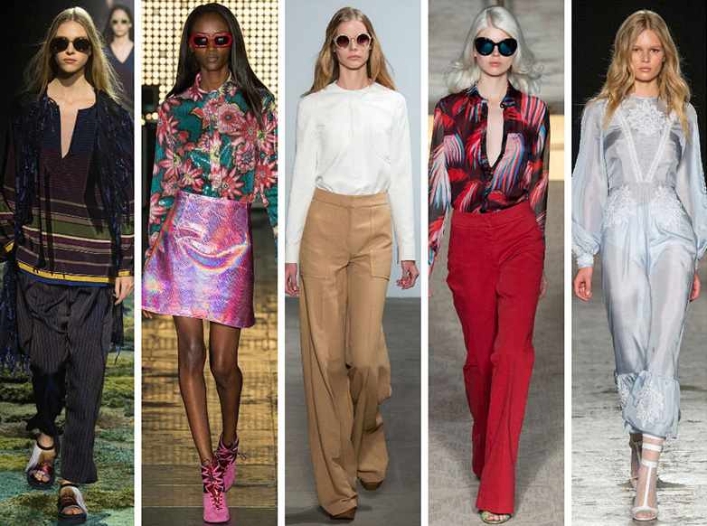 """Тренд од '70-тите: Бохемиски """"селски"""" фустани, плетки и линии со ефект на виножито"""