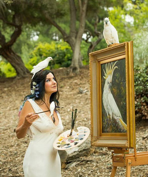 Артистка која гледа 100 пати повеќе бои од нормалните луѓе, преку прекрасни цртежи ни го покажува светот во нејзините очи