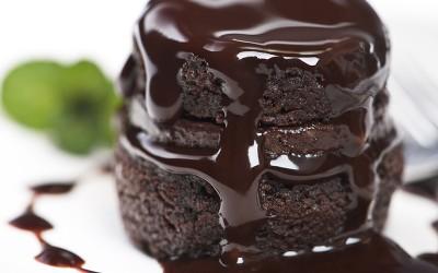 Пудинг торта со мока