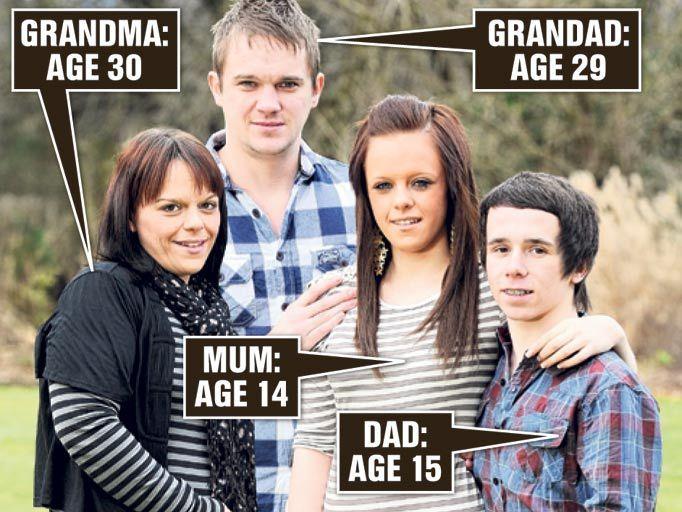 7 од најмладите родители на светот