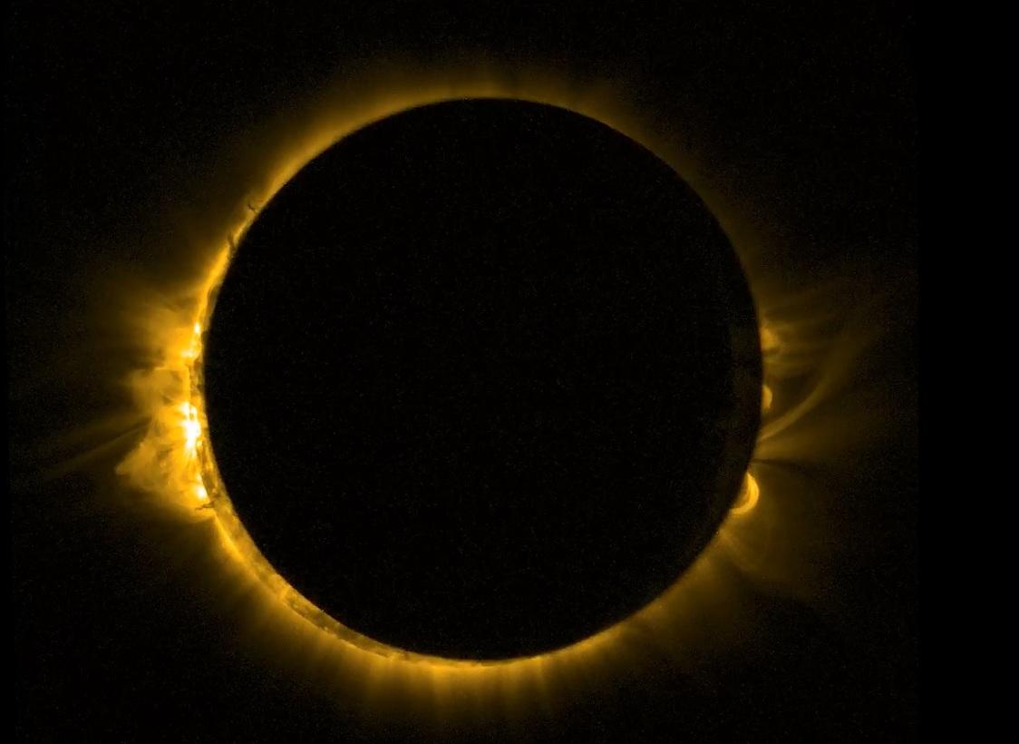 Фотографија направена од европски вселенски сателит