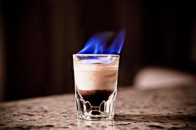 Огнен кафе шот