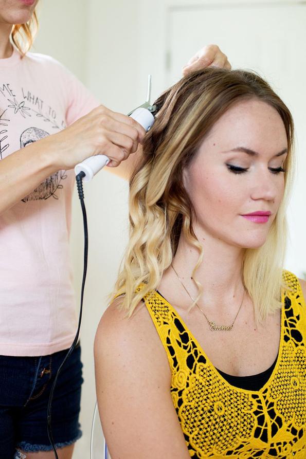 (2) Едноставна летна фризура: Бохо плетенка во јазол