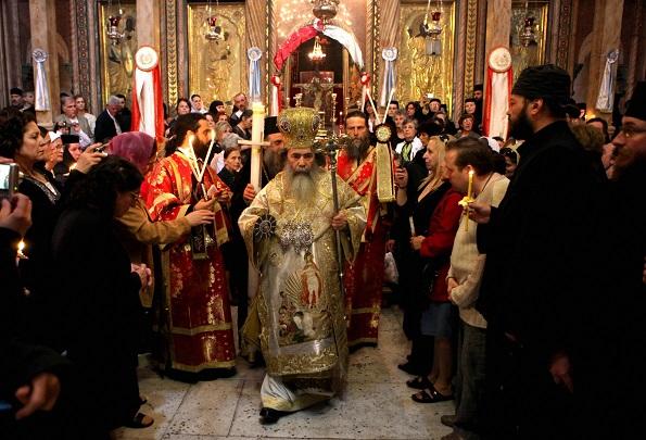 Greek Orthodox Patriarch of Jerusalem Th