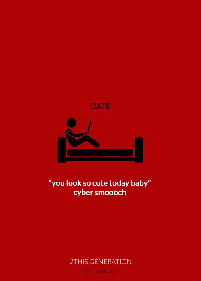 """На љубовен состанок: """"Изгледаш слатко денес, ти испраќам виртуелен бакнеж"""""""