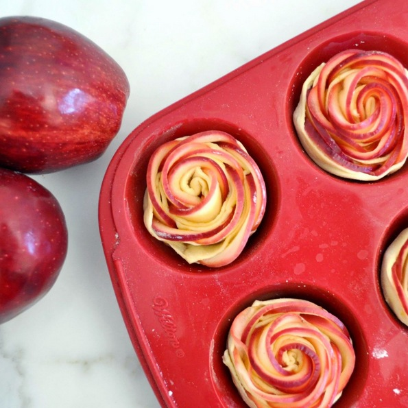 Ружи од јаболка кои се вкусни како што изгледаат