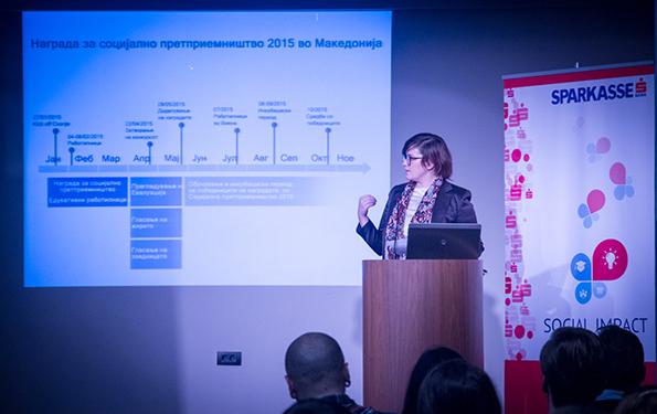 Наградата за Социјално претприемништво беше отворена со кик оф настан на 27 февруари 2015