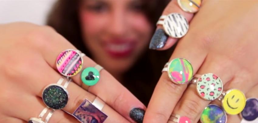 Направете сами: Уникатни колоритни прстени