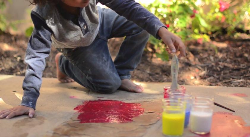 (1) Направете сами: Водени боички за цртање на тротоар