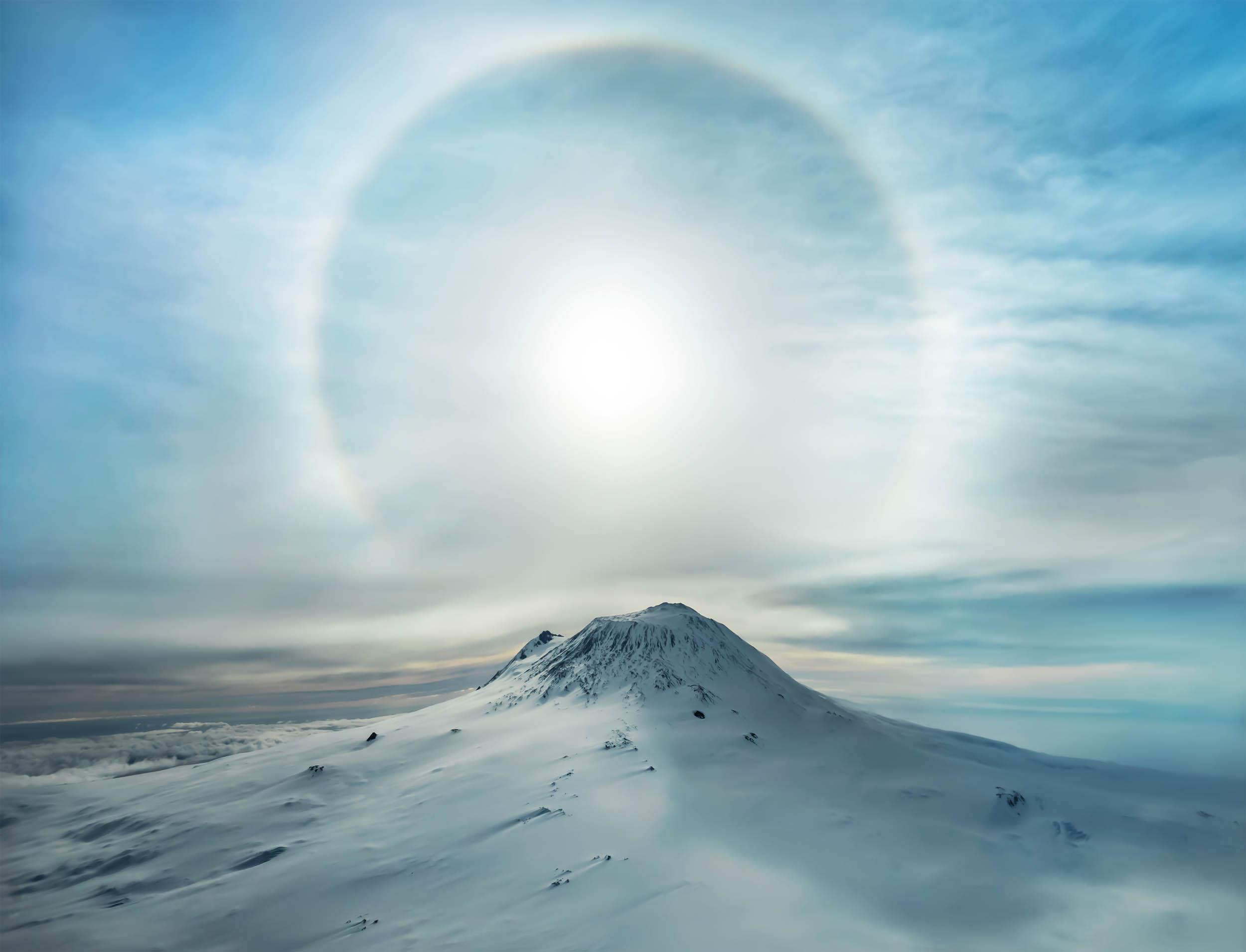 Најактивниот вулкан на планината Еребус