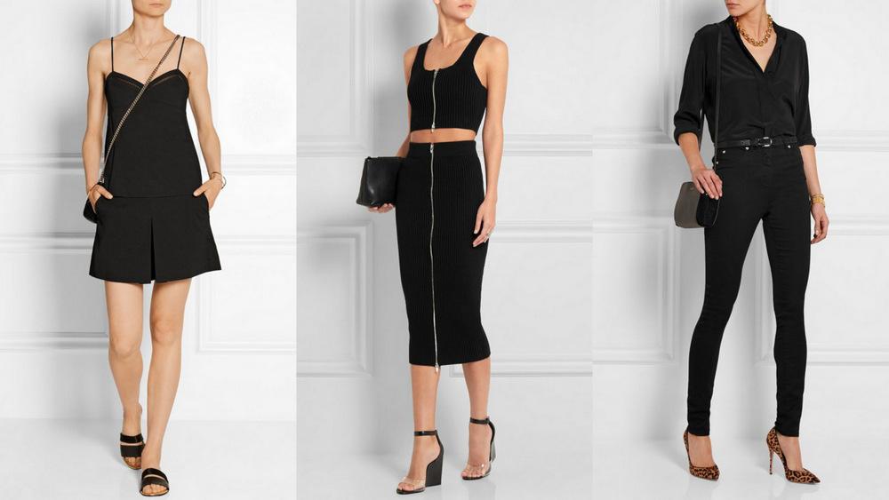 (0) Како да носите црни модни комбинации за време на летото?
