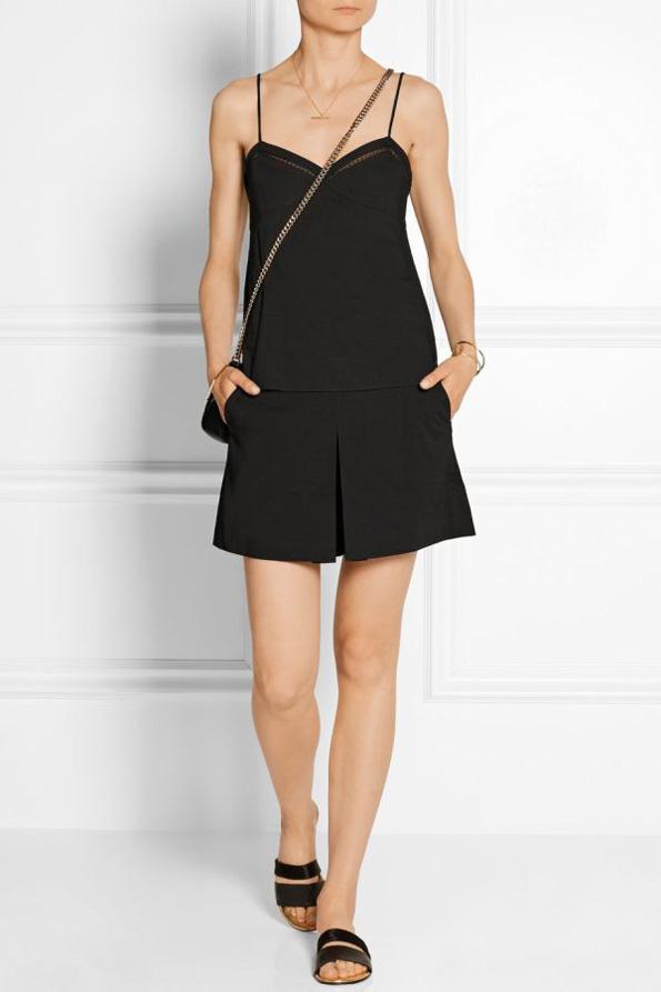 (1) Како да носите црни модни комбинации за време на летото?