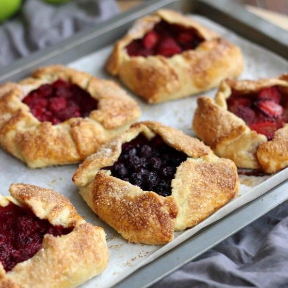 (1) Овошни галети: Вкусни летни тортички