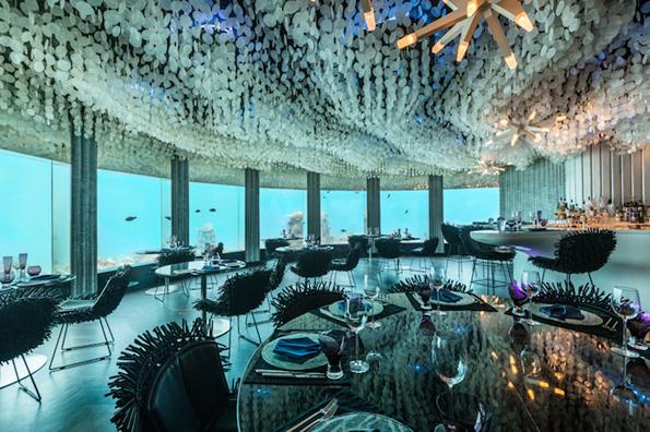 (1) Во овој неверојатен подводен ресторан можете да вечерате покрај морскиот свет