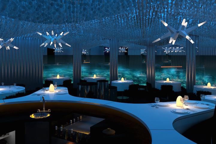 (2) Во овој неверојатен подводен ресторан можете да вечерате покрај морскиот свет