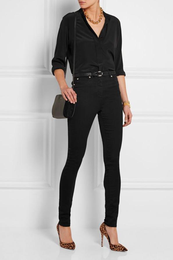 (5) Како да носите црни модни комбинации за време на летото?