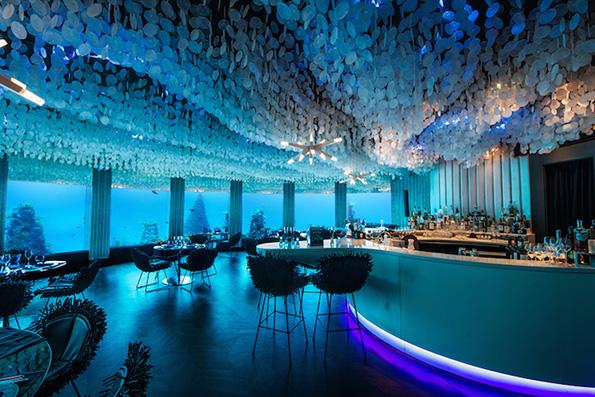(5) Во овој неверојатен подводен ресторан можете да вечерате покрај морскиот свет