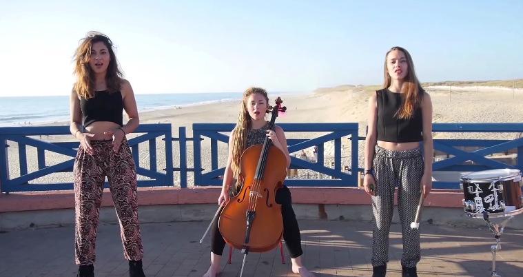 3 девојки од Франција за само 4 минути ги изведуваат најпопуларните летни хитови