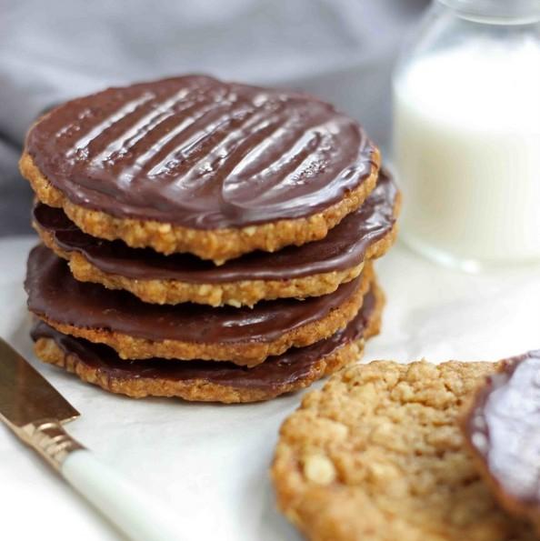 (1) Чоколадни овесни колачиња