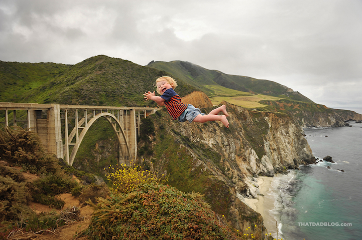 (1) Неверојатен татко прави фотографии каде што неговиот син со Даунов синдром лета