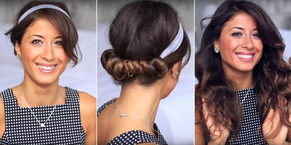 6 начини да ја навиткате косата без топлина