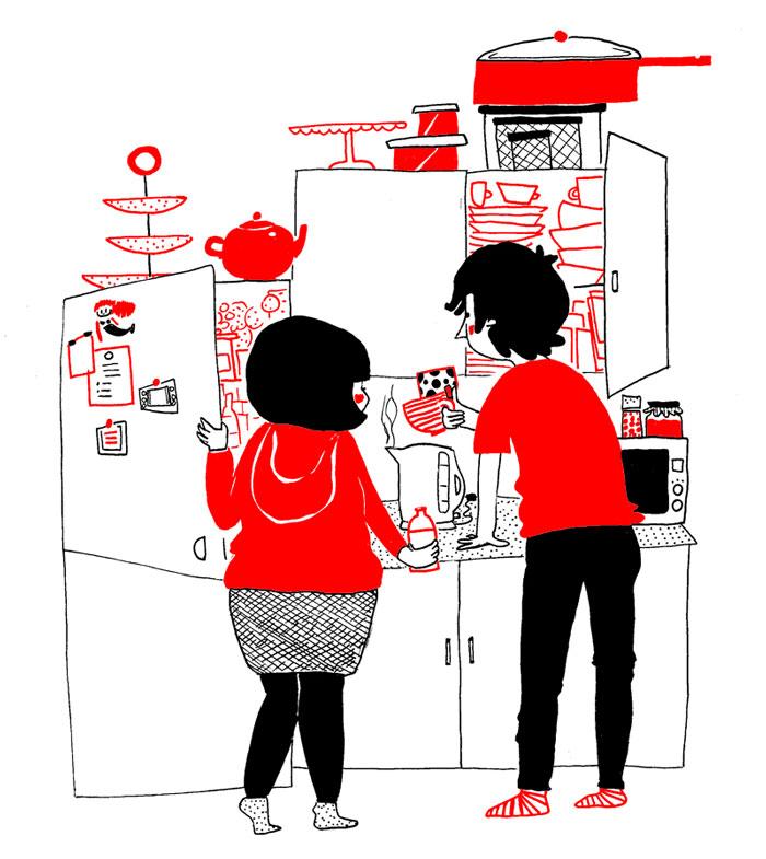 (1) Илустрации кои ќе ви го стоплат срцето и ќе ви покажат дека љубовта се гледа во малите нешта