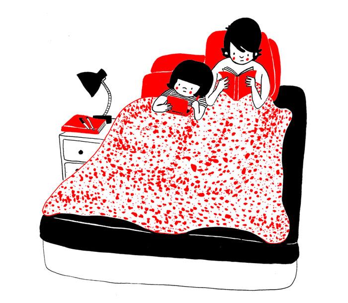 (10) Илустрации кои ќе ви го стоплат срцето и ќе ви покажат дека љубовта се гледа во малите нешта