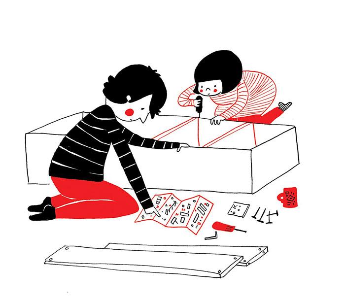 (11) Илустрации кои ќе ви го стоплат срцето и ќе ви покажат дека љубовта се гледа во малите нешта