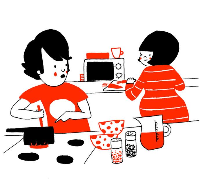 (13) Илустрации кои ќе ви го стоплат срцето и ќе ви покажат дека љубовта се гледа во малите нешта