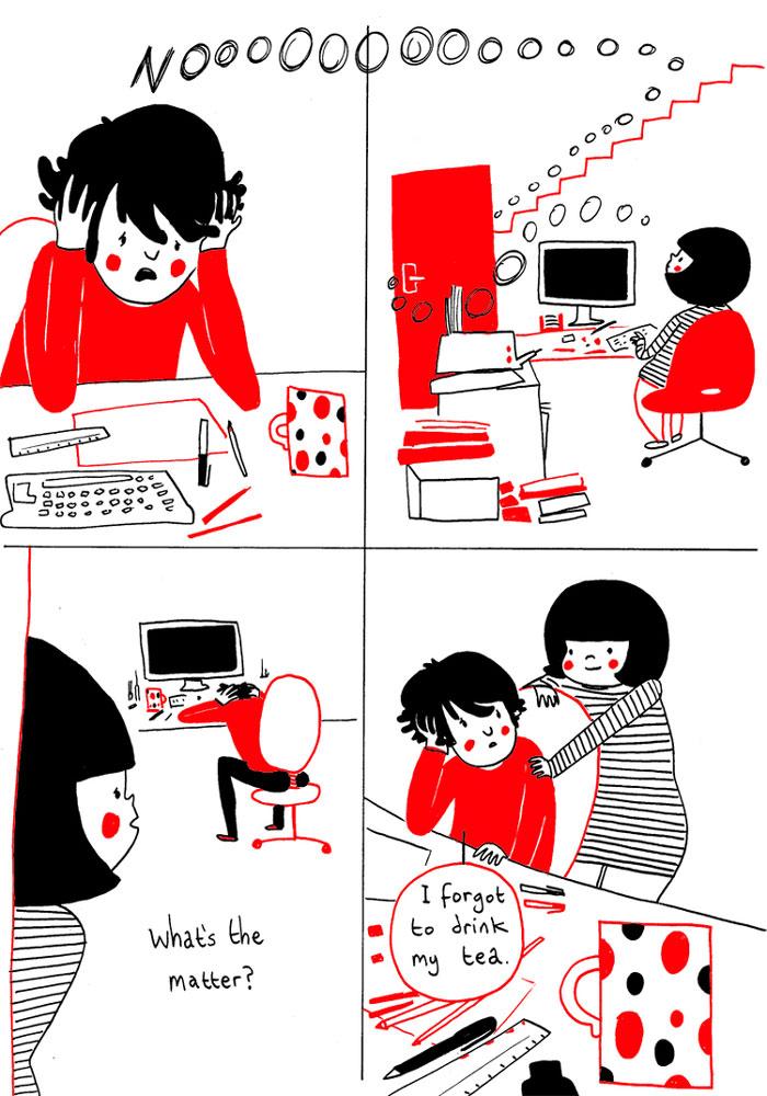 (14) Илустрации кои ќе ви го стоплат срцето и ќе ви покажат дека љубовта се гледа во малите нешта