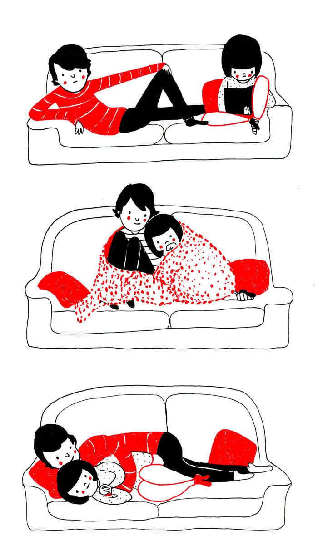 (16) Илустрации кои ќе ви го стоплат срцето и ќе ви покажат дека љубовта се гледа во малите нешта
