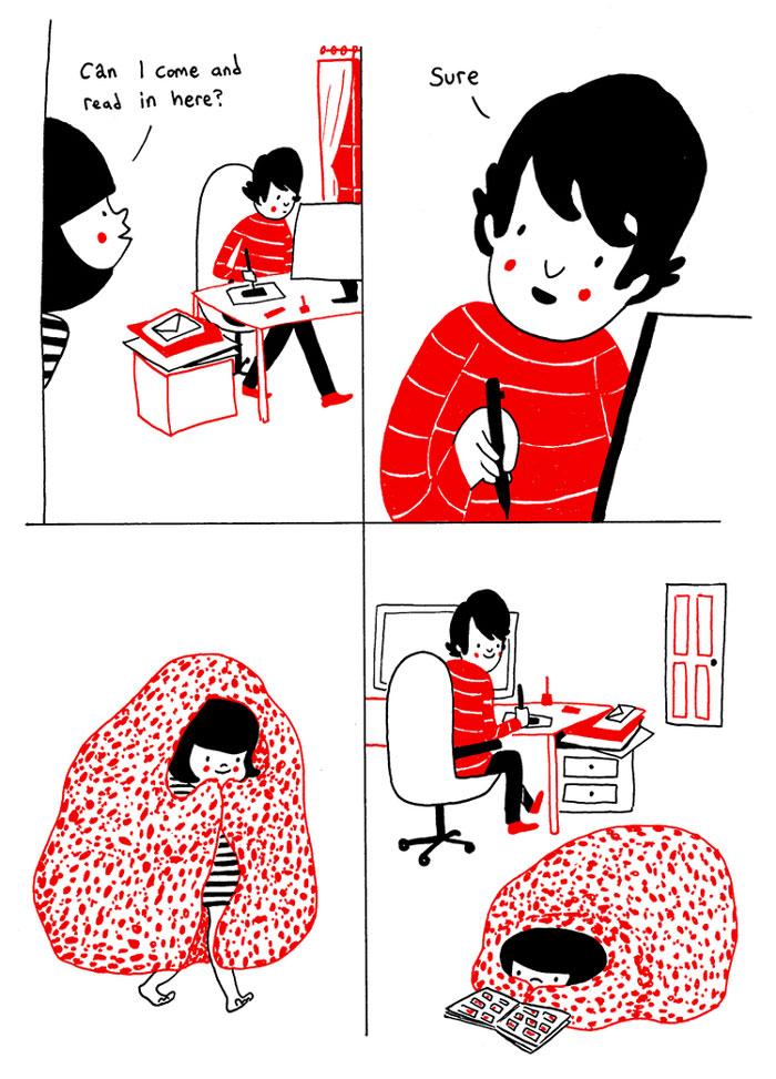 (2) Илустрации кои ќе ви го стоплат срцето и ќе ви покажат дека љубовта се гледа во малите нешта