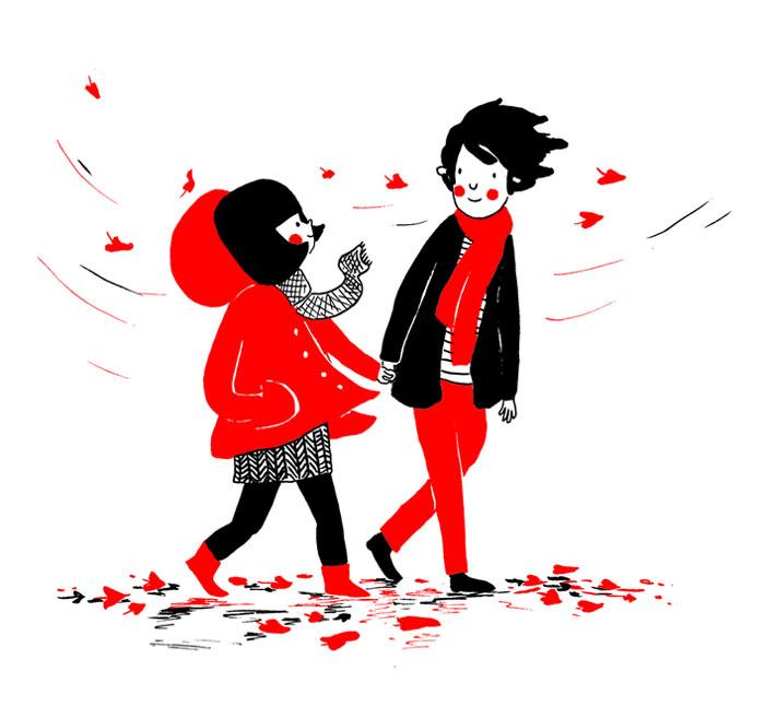 (20) Илустрации кои ќе ви го стоплат срцето и ќе ви покажат дека љубовта се гледа во малите нешта