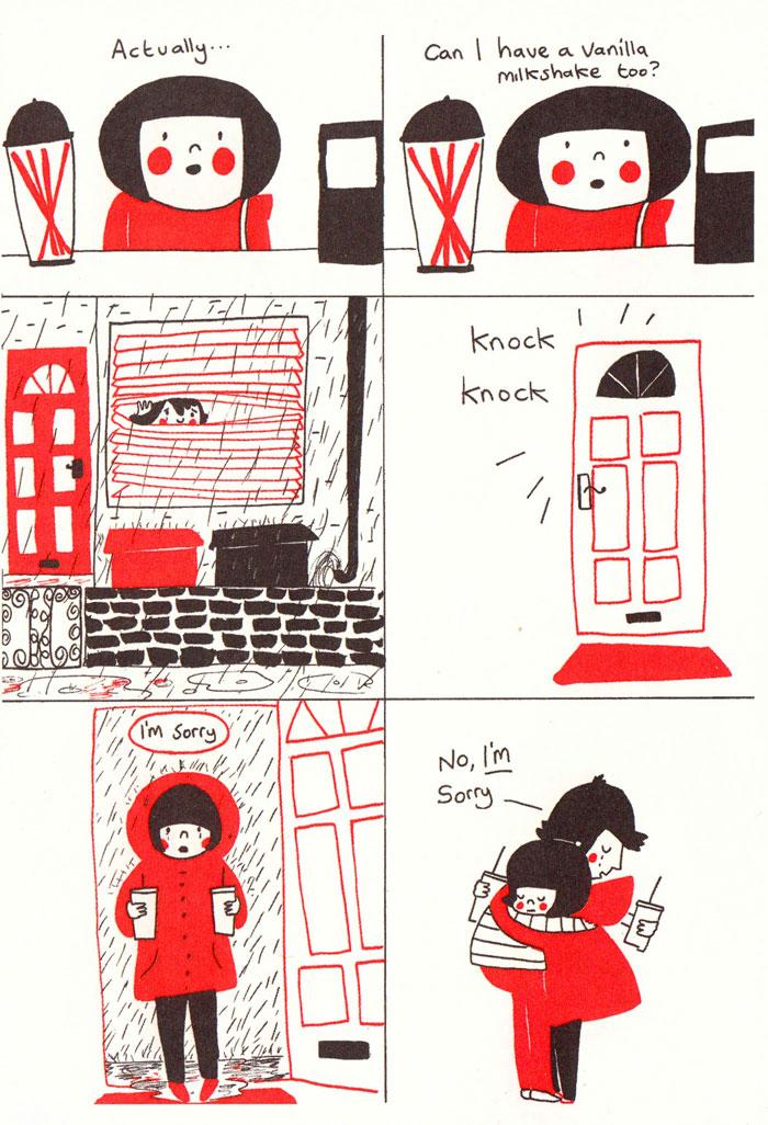 (21) Илустрации кои ќе ви го стоплат срцето и ќе ви покажат дека љубовта се гледа во малите нешта