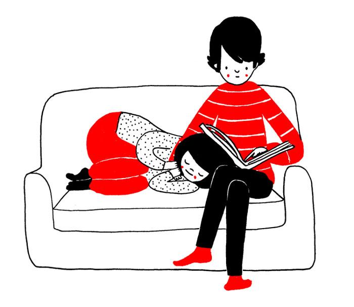 (22) Илустрации кои ќе ви го стоплат срцето и ќе ви покажат дека љубовта се гледа во малите нешта