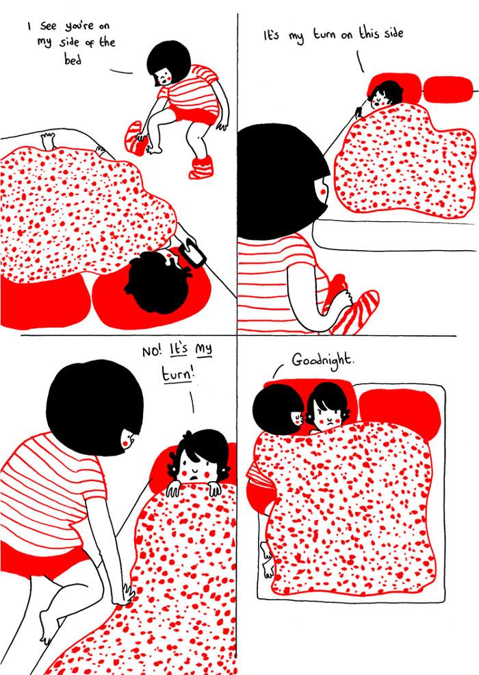 (24) Илустрации кои ќе ви го стоплат срцето и ќе ви покажат дека љубовта се гледа во малите нешта