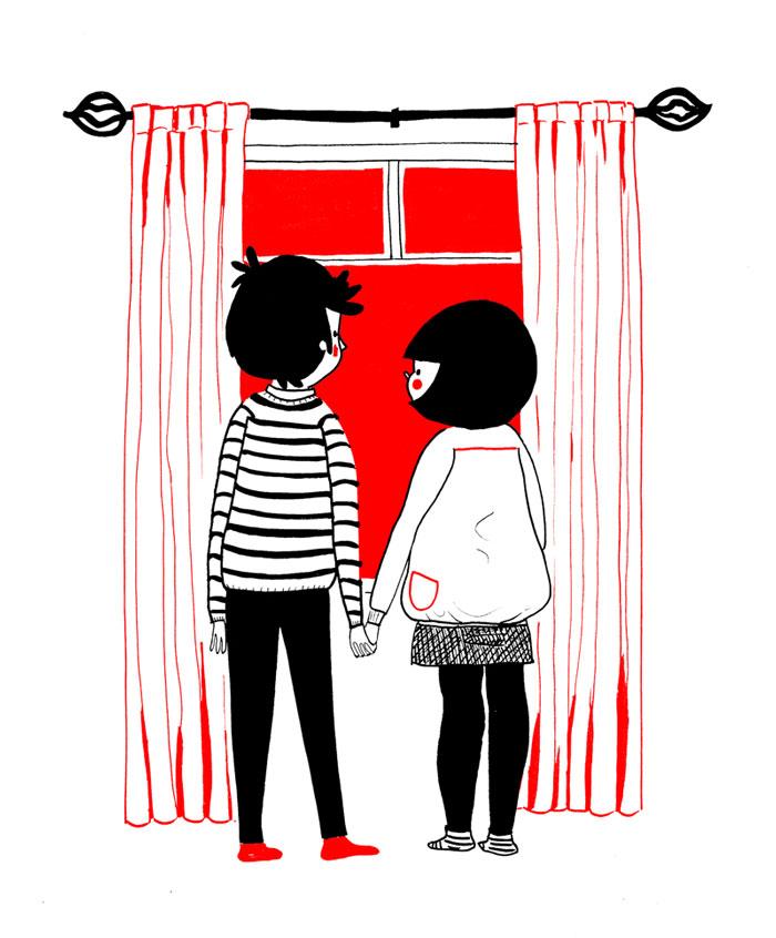(25) Илустрации кои ќе ви го стоплат срцето и ќе ви покажат дека љубовта се гледа во малите нешта