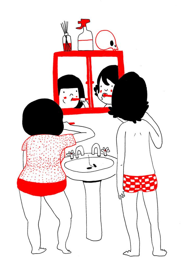 (4) Илустрации кои ќе ви го стоплат срцето и ќе ви покажат дека љубовта се гледа во малите нешта
