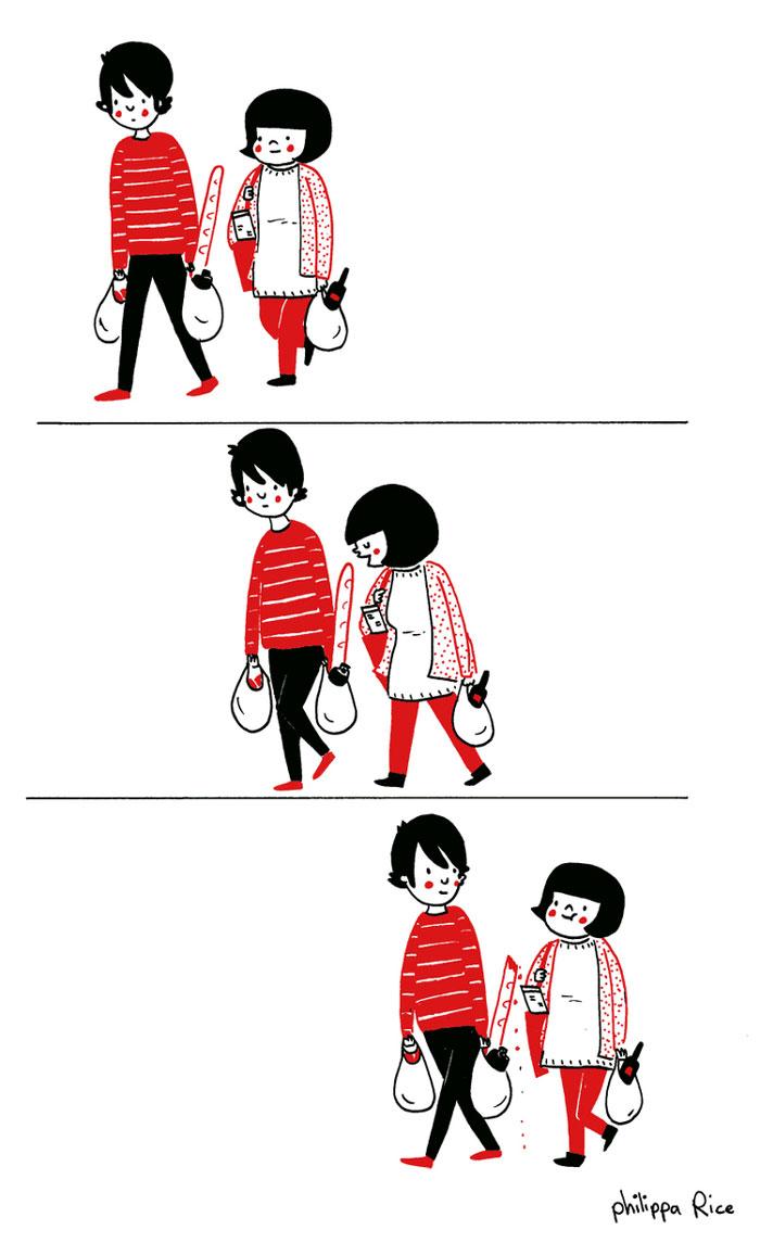 (5) Илустрации кои ќе ви го стоплат срцето и ќе ви покажат дека љубовта се гледа во малите нешта