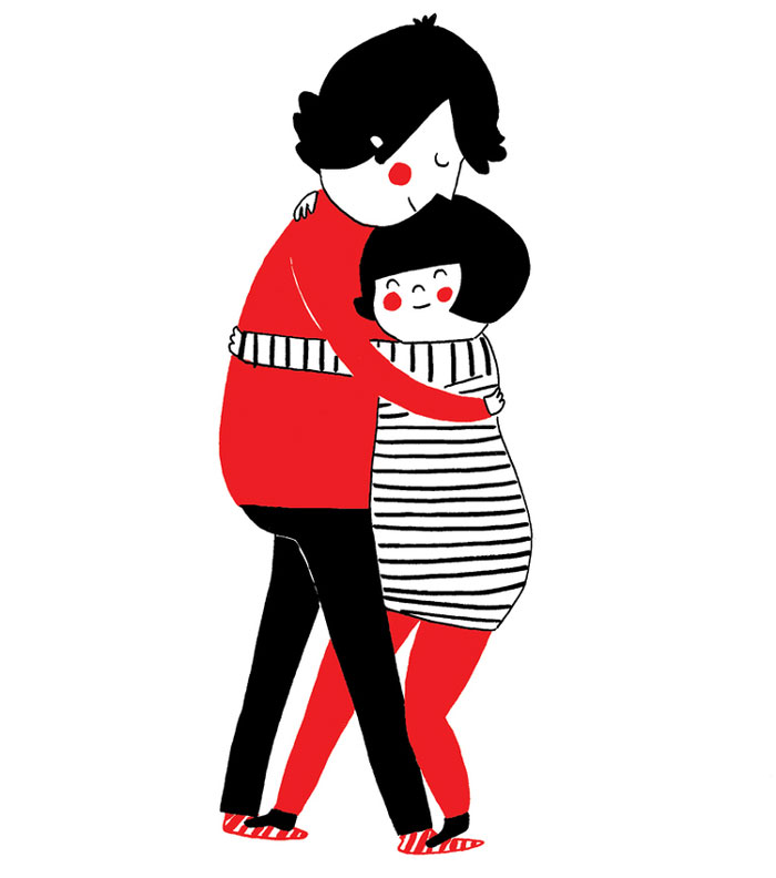 (6) Илустрации кои ќе ви го стоплат срцето и ќе ви покажат дека љубовта се гледа во малите нешта
