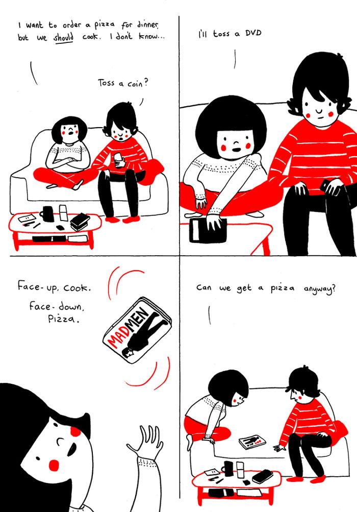 (7) Илустрации кои ќе ви го стоплат срцето и ќе ви покажат дека љубовта се гледа во малите нешта