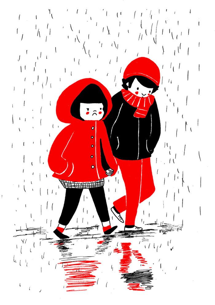 (8) Илустрации кои ќе ви го стоплат срцето и ќе ви покажат дека љубовта се гледа во малите нешта