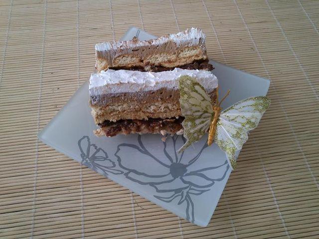 Денешен десерт: Карамел – лешник торта