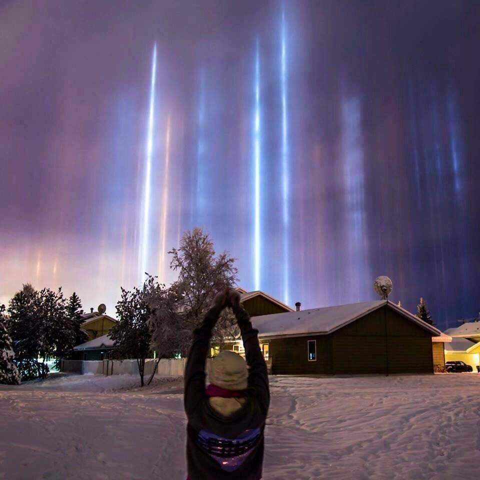 Редок небесен феномен кој се формира само на ниски температури
