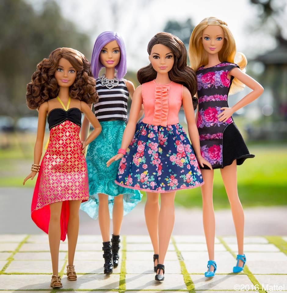 Барби доби нов и пореалистичен изглед со 3 нови видови тело и 7 бои на кожа