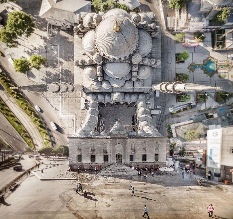 """Неверојатни фотографии од Истанбул изгледаат како да се од филмот """"Зачеток"""" (Inception)"""