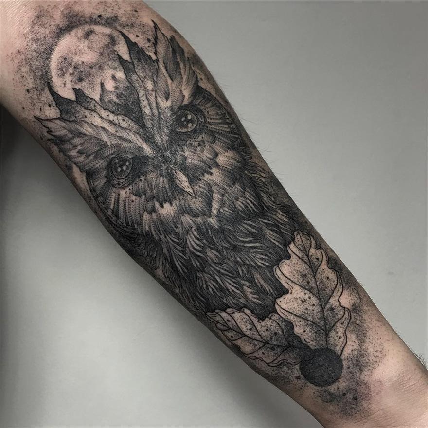 (1) Темни и морничави детално изработени тетоважи за најхрабрите момци и девојки