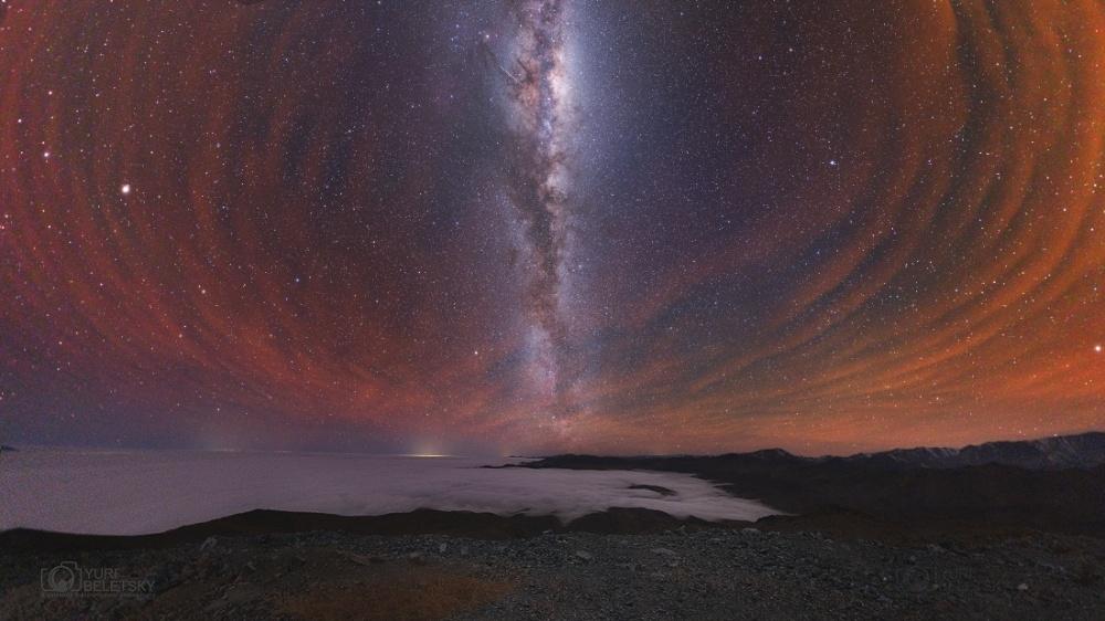 Млечниот пат над Чиле.