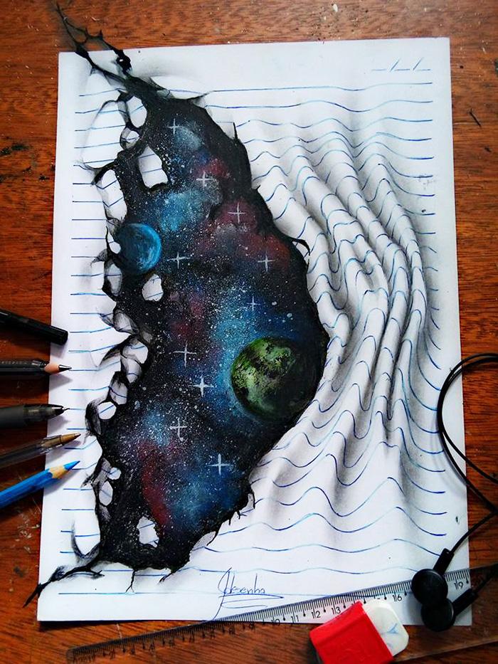 (1) 16-годишен артист создава фасцинантни 3Д цртежи кои отскокнуваат од страниците на тетратките